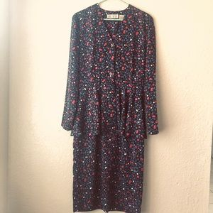 Liz Claiborne vintage dress.